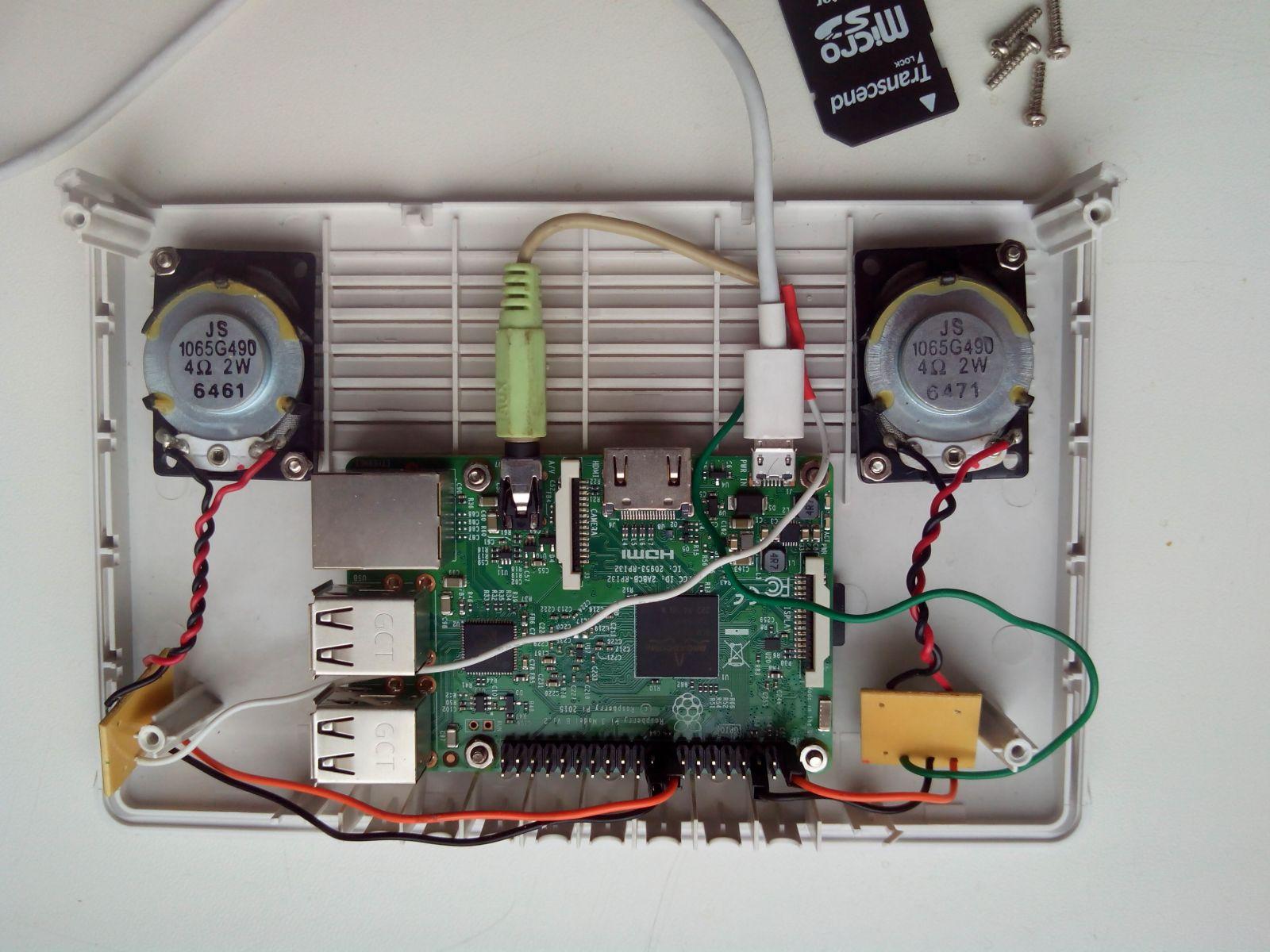 Медиа-центр на Raspberry Pi версии 3