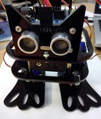 Сборка танцующего робота