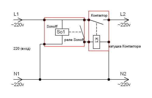 WI-FI выключатель Sonoff TH 10A TH-10A TH10A IM160712001