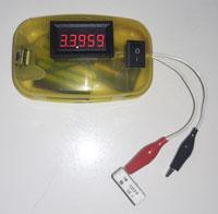 Цифровой портативный миллиомметр