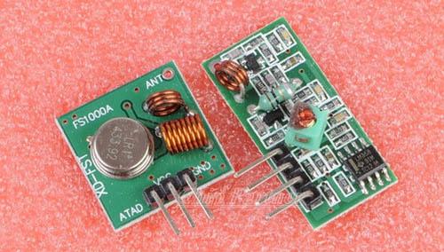 Arduino и радио модули частотой 433Мгц