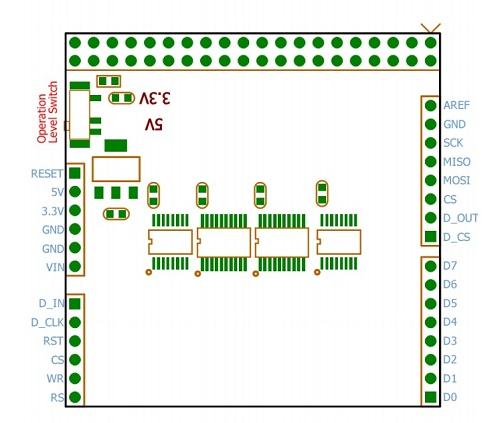 Підключення 2.8 TFT LCD Screen модуля до STM32