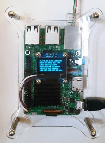 Роутер на Raspberry Pi 3 с дисплеем