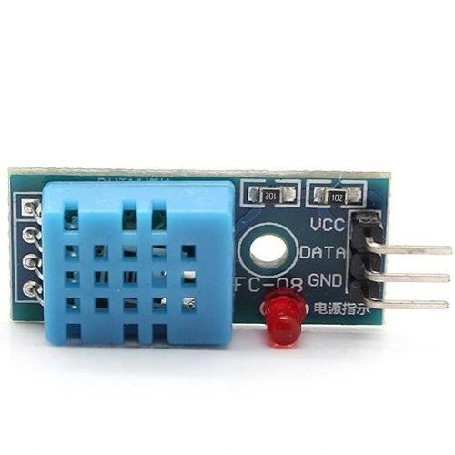 Модуль датчика температуры и влажности DHT-11 и Arduino