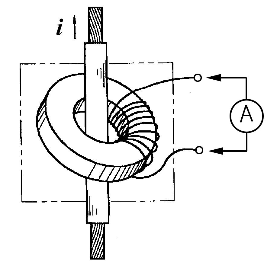 Измерение силы тока датчиком SCT-013-030