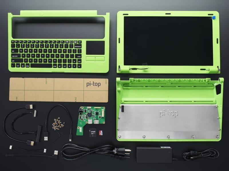 Обзор pi-TOP - ноутбук на базе Raspberry