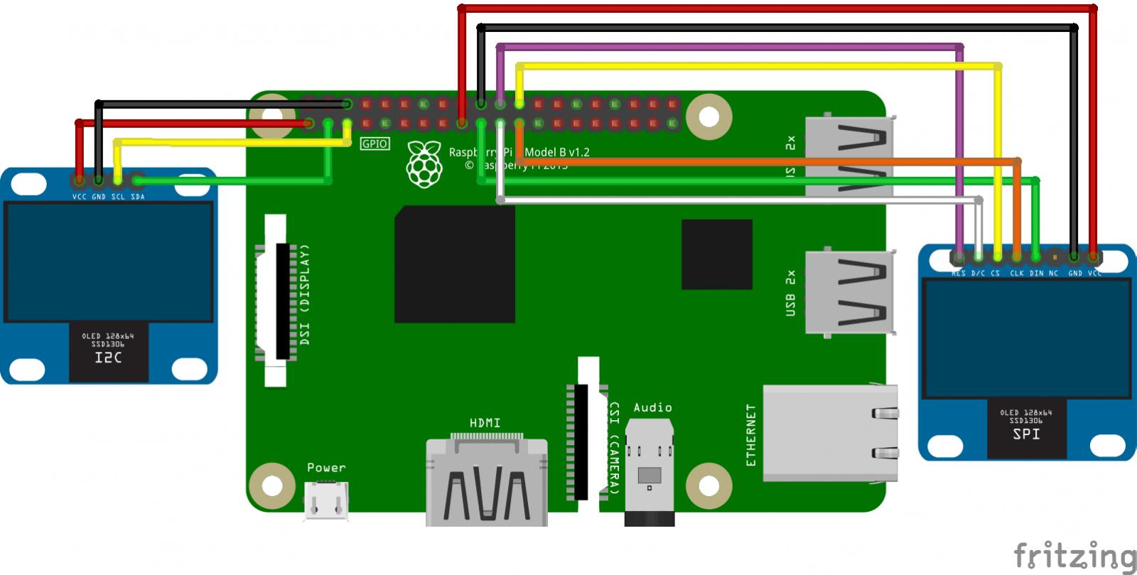 Портативный анализатор спектра на Pololu Wixel c OLED SPI дисплеем