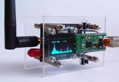 Генератор радиошума в диапазоне 2.4 ГГц