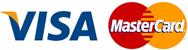 оплата картами Visa да MasterCard