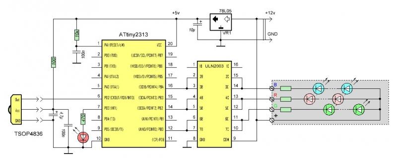 Делаем ISPпрограмматор из Arduino  Arduino  RoboCraft