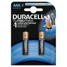 Батарейки Duracell Turbo Max ААА LR03, 2 шт.