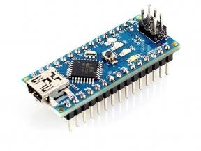 Фотография Arduino Nano V3.0 AVR ATmega328 P-20AU с кабелем mini-USB