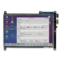 "Дисплей 7"" TFT 1024x600 HDMI Multi-touch ODROID-VU7A Plus від Hardkernel"