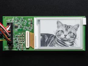 "RePaper - оклад разработчика из 0.7"" дисплеем eInk ото Adafruit"