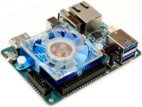 Мини-компьютер ODROID-XU4 не без; блоком питания